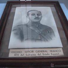 Militaria: ANTIGUA FOTO DE FRANCO. Lote 50965866