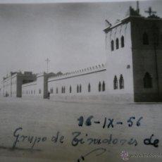 Militaria: FOTOGRAFÍA CUARTEL GRUPO DE TIRADORES DE IFNI. 1956. Lote 51009445