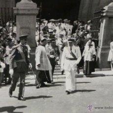 Militaria: FOTOGRAFÍA NOMBRAMIENTO AGUSTÍN MUÑOZ GRANDES, VICEPRESIDENTE DEL GOBIERNO - 14X9CM -25.JUL.1962.. Lote 51017854