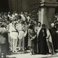 Militaria: FOTOGRAFÍA NOMBRAMIENTO AGUSTÍN MUÑOZ GRANDES, VICEPRESIDENTE DEL GOBIERNO - 14X9CM -25.JUL.1962.. Lote 51017918