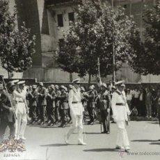 Militaria: FOTOGRAFÍA NOMBRAMIENTO AGUSTÍN MUÑOZ GRANDES, VICEPRESIDENTE DEL GOBIERNO - 14X9CM -25.JUL.1962.. Lote 51017934