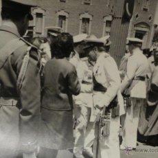 Militaria: FOTOGRAFÍA NOMBRAMIENTO AGUSTÍN MUÑOZ GRANDES, VICEPRESIDENTE DEL GOBIERNO - 14X9CM -25.JUL.1962.. Lote 51017956