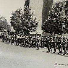 Militaria: ACTO MILITAR,NOMBRAMIENTO AGUSTÍN MUÑOZ GRANDES, FORMACIÓN - 14X9CM. Lote 51018125