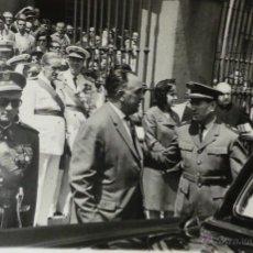 Militaria: ACTO MILITAR, NOMBRAMIENTO AGUSTÍN MUÑOZ GRANDES, VICEPRESIDENTE DEL GOBIERNO - 14X9CM. Lote 51018164
