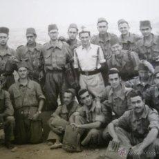 Militaria: FOTOGRAFÍA TENIENTE TIRADORES DE IFNI. SIDI IFNI. Lote 51024553