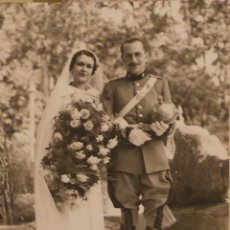 Militaria: FOTOGRAFÍA MILITAR, OFICIAL DE CABALLERÍA,CARLOS KILPATRICK O'DONNELL - 1936 - 15 X 10 CM. Lote 51044867