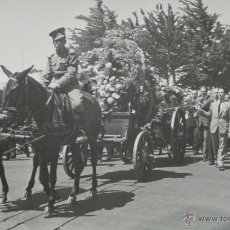 Militaria: FOTOGRAFÍA ENTIERRO MILITAR, GUERRA DE ÁFRICA -CEUTA -ALFOSO XIII - 16,5X10,5 CM. Lote 51045678