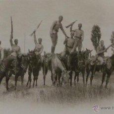 Militaria: FOTOGRAFÍA MILITAR, GUERRA DE ÁFRICA -ALFOSO XIII - 8,5X6,5 CM. Lote 51045753