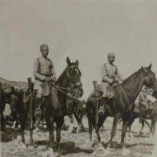 Militaria: FOTOGRAFÍA MILITAR, GUERRA DE ÁFRICA -ALFOSO XIII - 8,5X6,5 CM. Lote 51045771