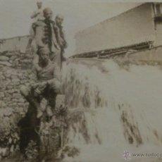 Militaria: FOTOGRAFÍA MILITAR, GUERRA DE ÁFRICA -ALFOSO XIII - 8,5X6,5 CM. Lote 51045799