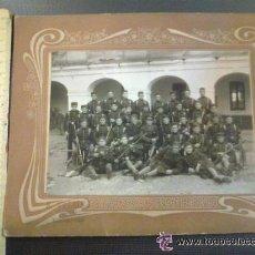Militaria: FOTOGRAFIA REGIMIENTOS DE INFANTERIA INMEMORIAL DEL REY. LEGANES. E. VILLALBA FOTOGRAFO. MADRID.. Lote 51056006