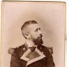 Militaria: FOTOGRAFÍA MILITAR MARINERO O MARINO J. SELLIER FOTOGRAFÍA DE PARIS. CORUÑA.. Lote 51056117