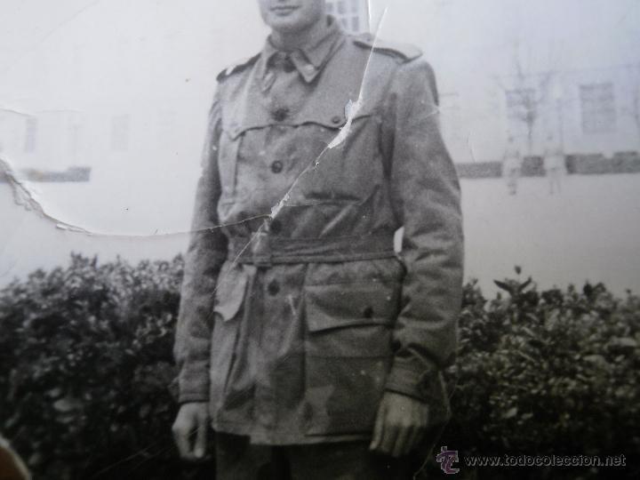 Militaria: Fotografía soldado del ejército español. Camuflaje artesanal - Foto 3 - 51060929