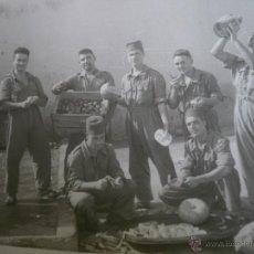 Militaria: FOTOGRAFÍA SOLDADOS TIRADORES DE IFNI. SIDI IFNI. Lote 51062453