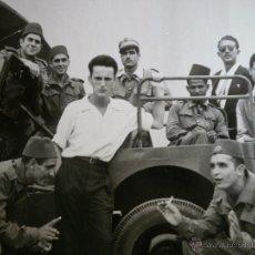 Militaria: FOTOGRAFÍA OFICIAL TIRADORES DE IFNI. SIDI IFNI JEEP WILLYS. Lote 51071430