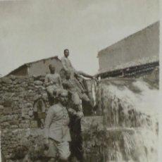 Militaria: FOTOGRAFÍA - SOLDADOS ALFONSINOS GUERRA DE ÁFRICA - 8 X 6 CM. Lote 51093624