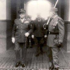 Militaria: FOTOGRAFIA MILITAR 9X14 CM - OFICIALES INGENIEROS - FOTO DEL MORAL CEUTA. Lote 51125356