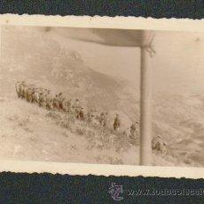 Militaria: FOTOGRAFIA DE MILITARES ESPAÑOLES DE INGENIEROS.FOTOGRAFIA ROS.CEUTA.. Lote 51160517