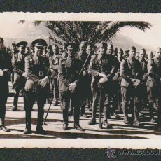 Militaria: FOTOGRAFIA DE MILITARES ESPAÑOLES DE INGENIEROS.FOTOGRAFIA S.AZERRAD.TETUAN.. Lote 51160572