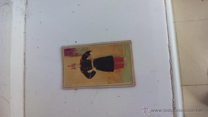 Militaria: Antigua foto postal soldado guardia real España de época 1900 en color - Foto 3 - 51201666