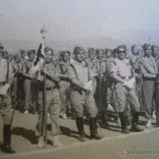 Militaria: FOTOGRAFÍA LEGIONARIOS. MELILLA 1947. Lote 51505950