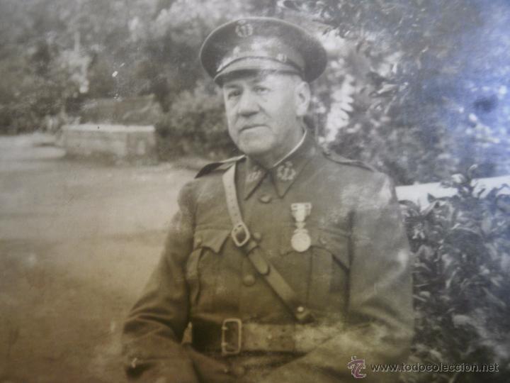 FOTOGRAFÍA TENIENTE CORONEL DEL EJÉRCITO ESPAÑOL. FARMACIA MILITAR 1930 (Militar - Fotografía Militar - Otros)