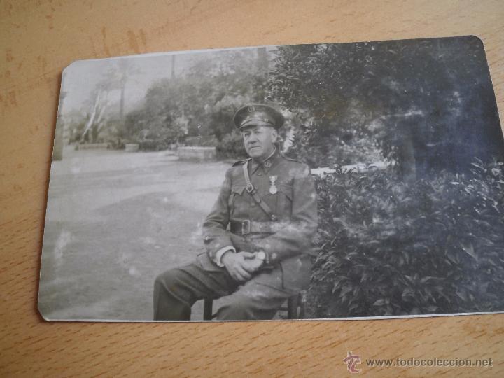 Militaria: Fotografía teniente coronel del ejército español. Farmacia Militar 1930 - Foto 2 - 51511276