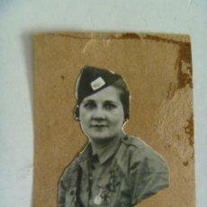 Militaria: GUERRA CIVIL : MUJER DIRIGENTE DE LA SECCION FEMENINA DE FALANGE . Lote 51572619
