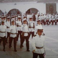 Militaria: FOTOGRAFÍA SOLDADOS INFANTERÍA DE MARINA. CARTAGENA 1976. Lote 51596699
