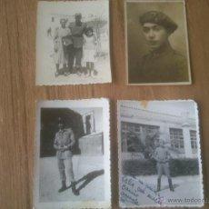 Militaria: FOTOGRAFIAS SOLDADOS ESPAÑOLES. Lote 51636247