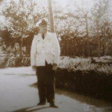 Militaria: FOTOGRAFÍA TENIENTE AVIACIÓN NACIONAL. UNIFORME DE VERANO. Lote 51645348