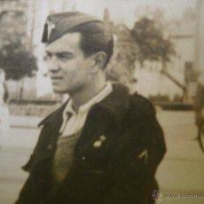 Militaria: FOTOGRAFÍA SOLDADO ARTILLERÍA DEL EJÉRCITO NACIONAL. ÁNGULO DE HERIDO. Lote 51957487