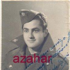 Militaria: SEVILLA, 1957, FOTOGRAFIA DE UN SOLDADO DE AVIACION,78X108MM. Lote 52031826