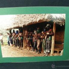 Militaria: FOTO MILICIA GUERRILLA FARC SENDERO LUMINOSO SUDAMERICA CENTROAMERICA AÑOS 70 80 FUJIFILM 35X50CMS. Lote 52152527