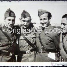 Militaria: (JX-106)SOLDADOS EN EL CASTILLO DE MONTJUICH,RELEVO,BRANGULI,COBO,CAPELLA Y CAMALIG,COMISARIO G.C.. Lote 52159373