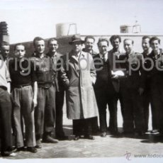 Militaria: (JX-114)FOTOGRAFIA DE CONSELLERS,JOAN CONORERA,COMISARIO CAPELLA,FRENTE DE MADRID,1938. Lote 52166174