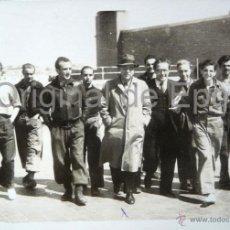 Militaria: (JX-115)CONSELLERS GENERALITAT,JOAN COMORERA Y COMOSARIO CAPELLA,EN EL FRENTE DE MADRID 1938. Lote 52166189
