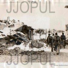Militaria: LOS SUBURBIOS DE MADRID BOMBARDEADOS. 1936 ORIGINAL. Lote 52168395