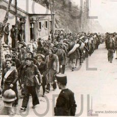Militaria: REFUGIADOS EJERCITO REPUBLICANO EN ARGELES SUR MER. FRANCIA. 1939 ORIGINAL AGENCIA. EXILIO. Lote 52169838