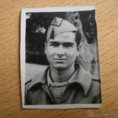 Militaria: FOTOGRAFÍA SOLDADO DEL EJÉRCITO NACIONAL. GUERRA CIVIL. Lote 52342293