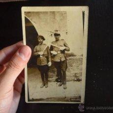 Militaria: FOTOGRAFIA DE MILITARES, ALFONSO XIII. Lote 52430474