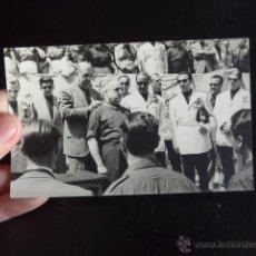 Militaria: ANTIGUA FOTOGRAFIA DE JERARCAS DE FALANGE Y FRANCO?. Lote 52431840