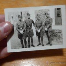 Militaria: ANTIGUA FOTOGRAFA DE MILITARES, GUERRA CIVIL. Lote 52433465