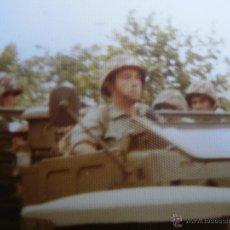 Militaria: FOTOGRAFÍA SOLDADOS INFANTERÍA DE MARINA. CARTAGENA 1976. Lote 52447594