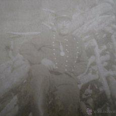 Militaria: FOTOGRAFÍA SOLDADO DEL EJÉRCITO FRANCÉS. 1ºGM. Lote 52480650
