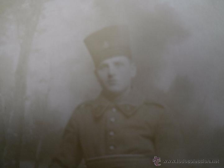 FOTOGRAFÍA SOLDADO DEL EJÉRCITO FRANCÉS. 1ºGM (Militar - Fotografía Militar - I Guerra Mundial)
