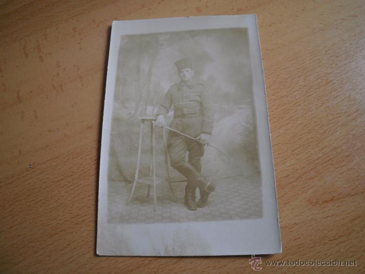 Militaria: Fotografía soldado del ejército francés. 1ºGM - Foto 2 - 52480689