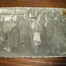 Militaria: FOTO SOLDADOS MILITAR MILITARES CON TORERO . Lote 52489774