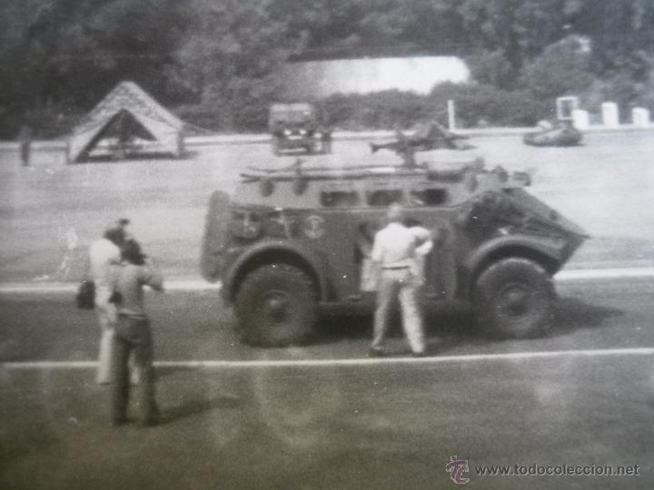 FOTOGRAFÍA VEHÍCULO PANHARD M3. INFANTERÍA DE MARINA (Militar - Fotografía Militar - Otros)