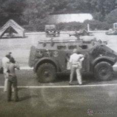 Militaria: FOTOGRAFÍA VEHÍCULO PANHARD M3. INFANTERÍA DE MARINA. Lote 52504162